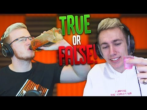 DRUNK TRUE OR FALSE W/ MINIMINTER!!
