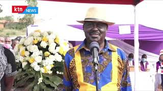 Raila blasts Kalonzo over his remarks that he won't support Odinga's fifth presidential bid