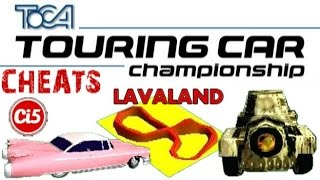 TOCA Touring Car Championship (Cheats)