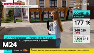 В Москве вводится обязательный масочный режим - Москва 24