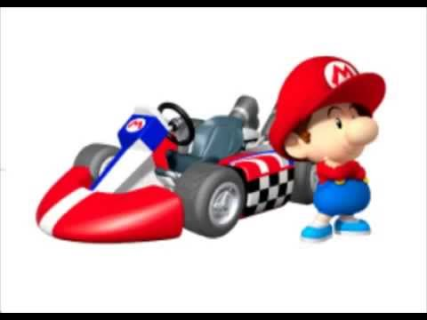 baby mario voices mario kart wii youtube