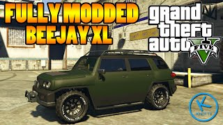 GTA 5 Fully Modified: KARIN BEEJAY XL ( OFF ROAD BUILD )