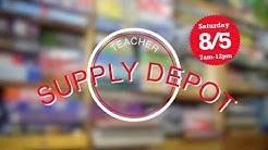 Teacher Supply Depot Fall 2017