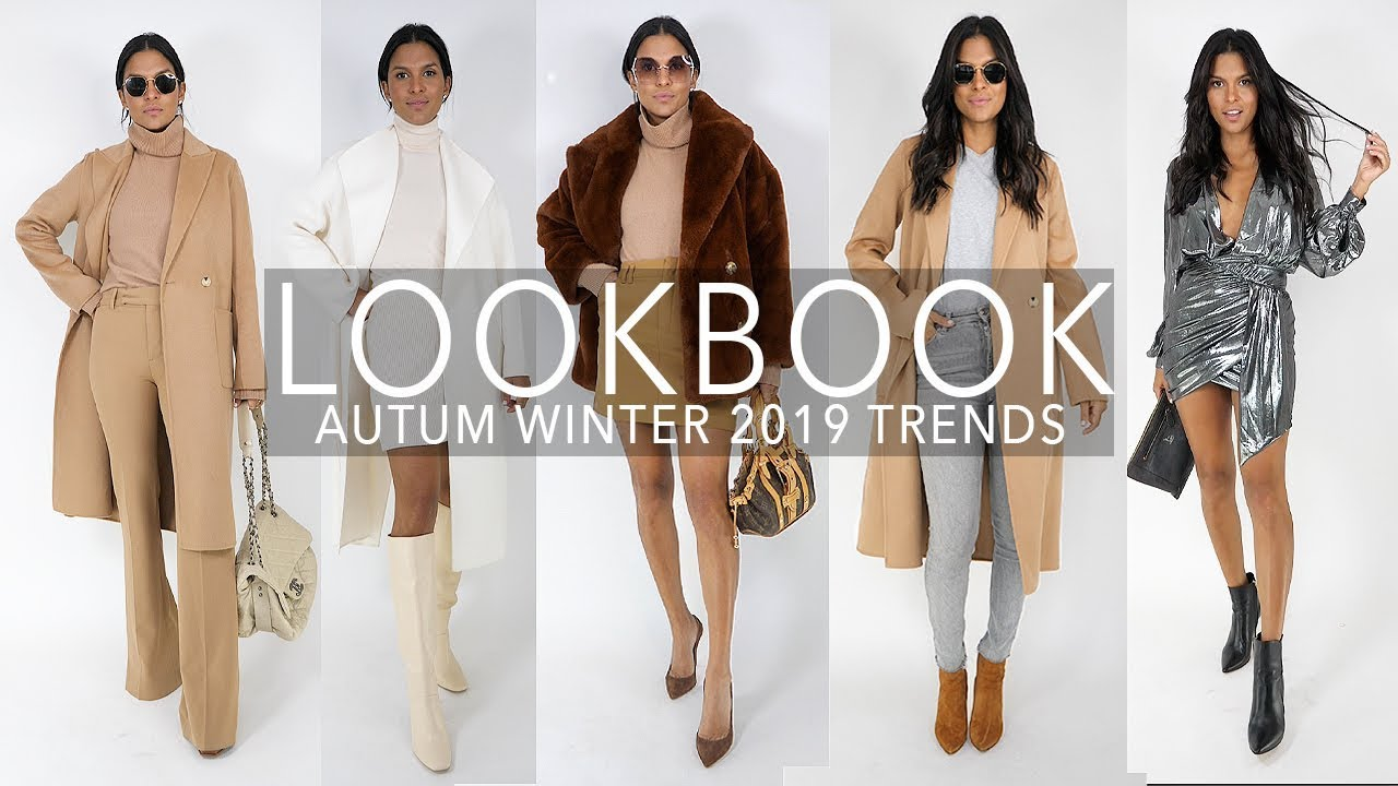 Fall Shoe Collection Reveal ! ⭐+ 10 HIGH END Autum Outfits + Try on Haul  2019 |  Maria Teresa Lopez 1