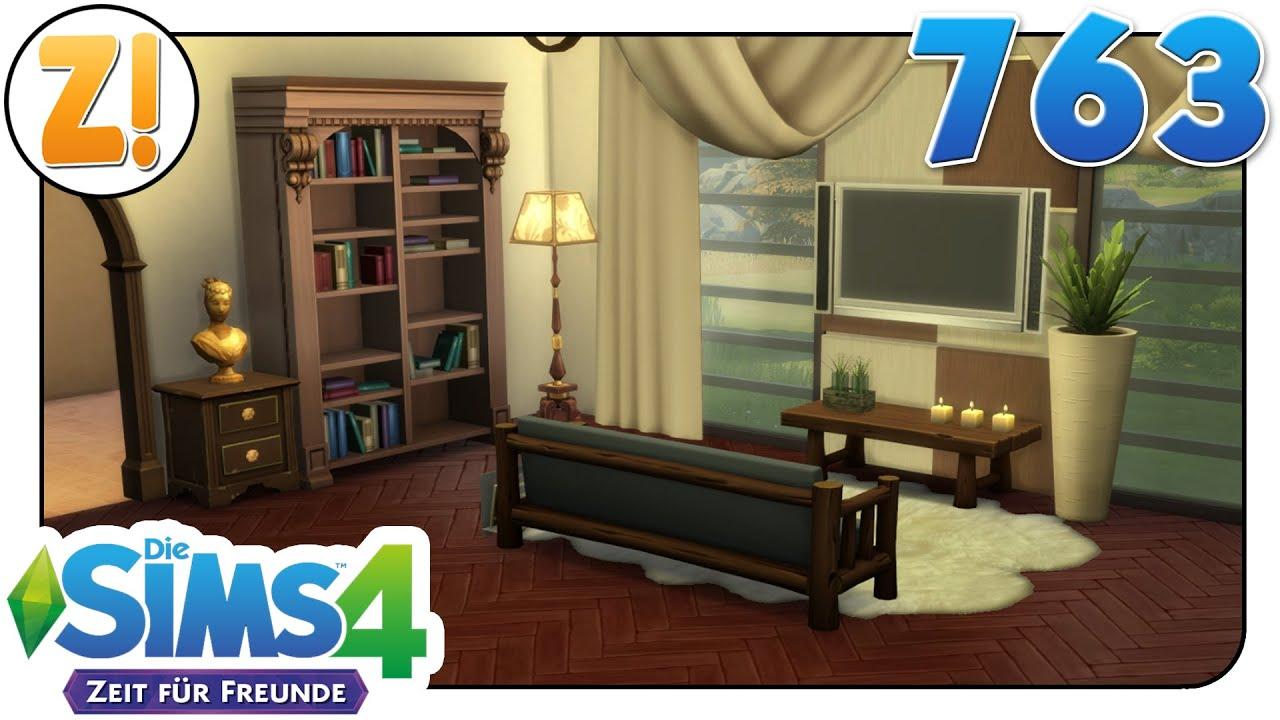 Sims 4 [Zeit für Freunde]: Rustikal & Modern - Nicht so leicht ...