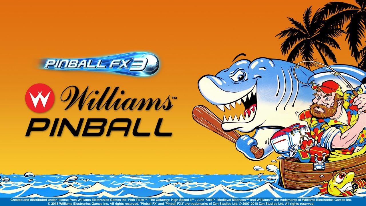 Zen Studios (Pinball FX3) picks up Williams and Bally