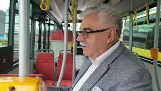 Burmistrz Gabriel Szkudlarek o nowych autobusach