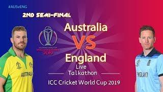Australia vs Engand 1st Semi Final - LIVE Talkathon | DD Sports | #CWC19