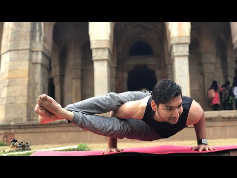 Ashtavakrasana (Eight Angle Pose) For Beginners || Arm Balance || Ashtanga Series 3 Pose ||