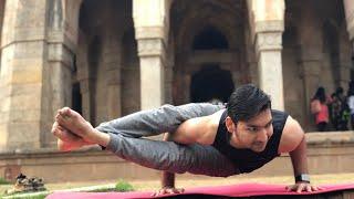 Ashtavakrasana (Eight Angle Pose) For Beginners    Arm Balance    Ashtanga Series 3 Pose   