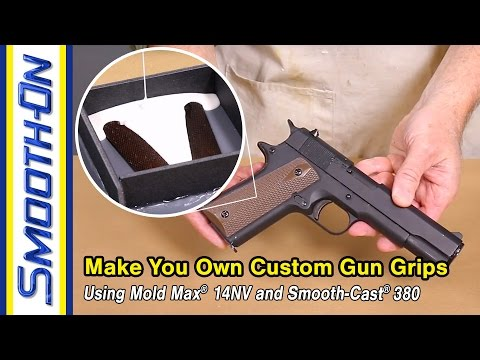 Moldmaking Tutorial - How to Make Your Own Custom 1911 Pistol Grips