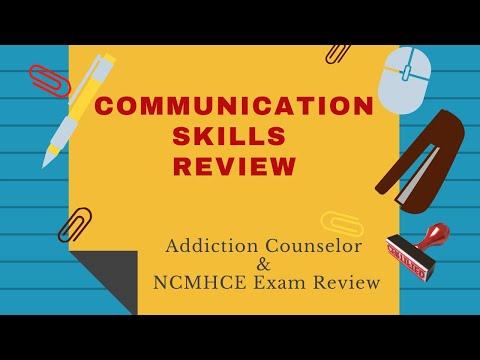 Communication Skills Review