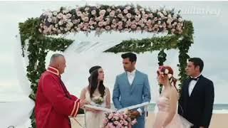 Свадьбы в турецких сериалах 😍👰🤵 • Сериалы👇 1)📽Вишневый сезон 2)📽Черная любовь  3)📽Запах клубн