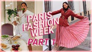 PFW Part 1: Dior, Louis Vuitton, Chloe Fittings & Feeling Uninspired | Vlog #76 | Aimee Song