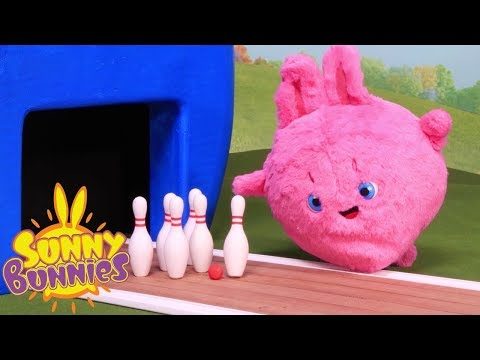 Toyplay For Children | SUNNY BUNNIES - BOWLING | Funny Cartoons For Children