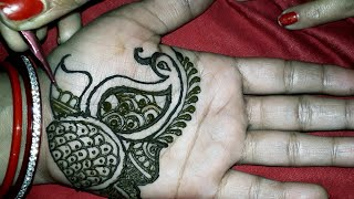 Easy Traditional Mehndi Design for Brides | Bridal Mehndi Design