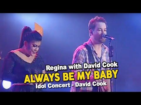 Regina With David Cook - Always Be My Baby (Idol Concert - David Cook)