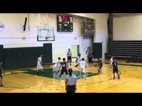 SF Raidens vs Foster City Flyers - 8th Grade Boys - 2014 Eagles Tournament