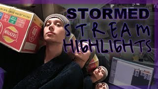 Stormed stream highlights 2 - Laughing my way into 2018