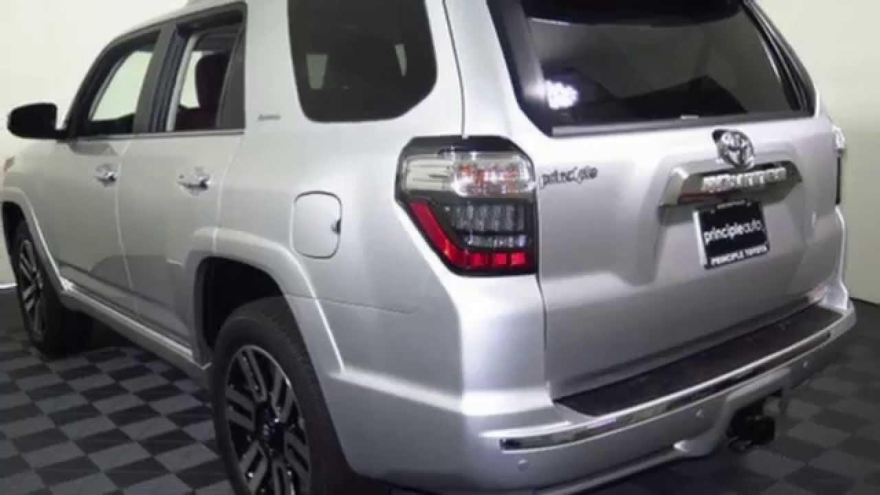 2015 Toyota 4runner Limited Interior Exterior Principle Toyota Youtube