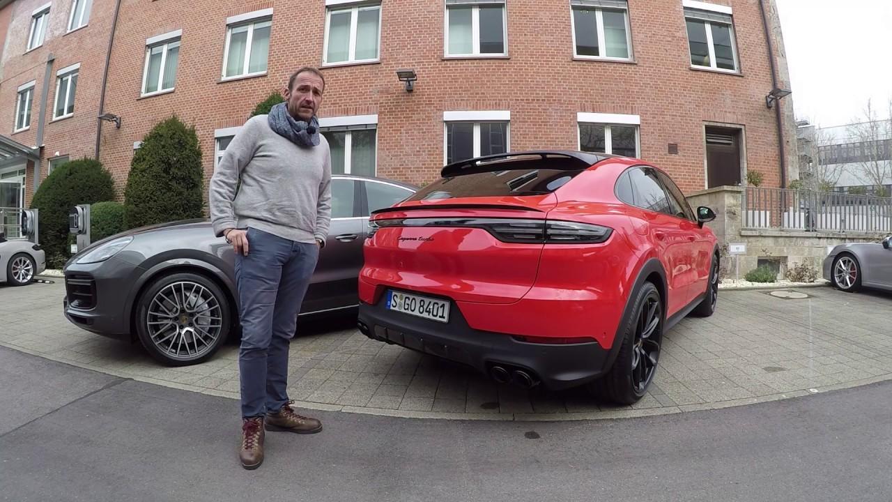 2020 Porsche Cayenne Coupe First Video Walk Around Youtube