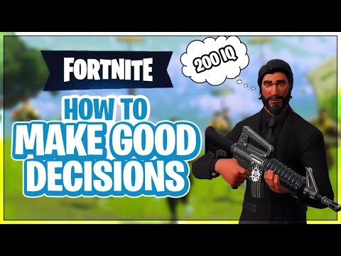 HOW TO WIN | Making Good Decisions (Fortnite Battle Royale)