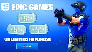 UNLIMITED REFUNDS In Fortnite.. (How To Get More Refunds In Fortnite)