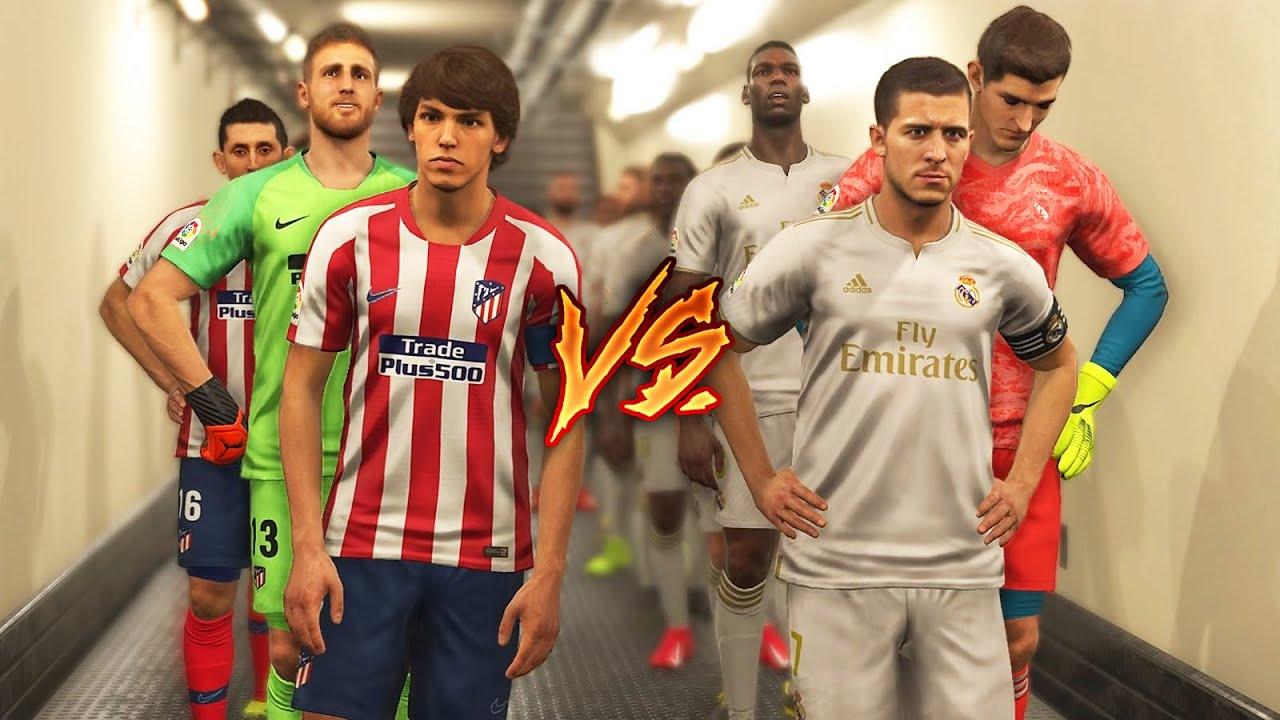 Real Madrid Vs Atletico Madrid 2020