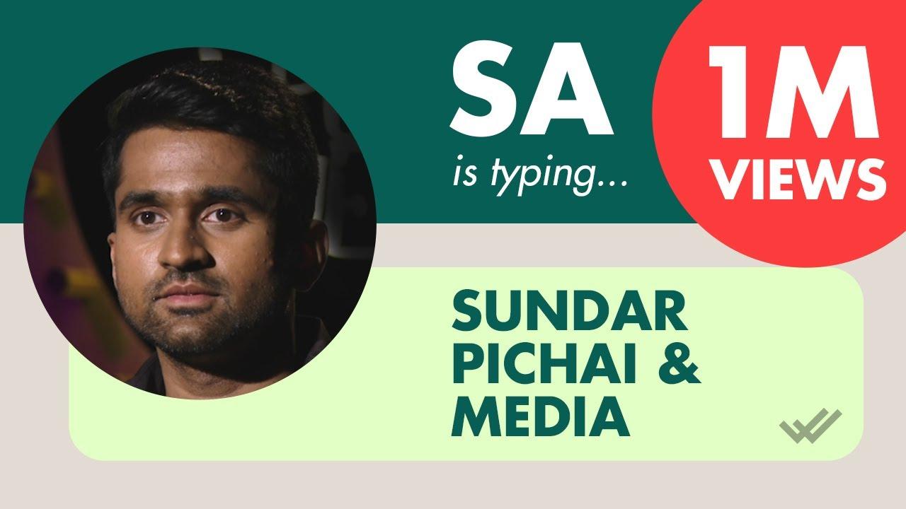 SA on Sundar Pichai and Media | Aravind SA | Standup Comedy