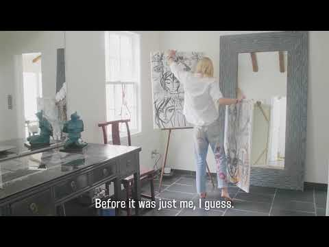 In the studio with artist Sasha Pivovarova