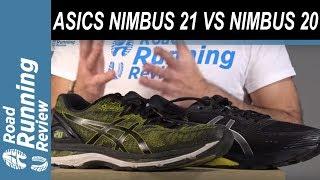 ASICS GEL NIMBUS 21 VS ASICS GEL NIMBUS 20   Análisis a fondo