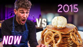 Re-attempting our Past Cooking Fails | ULTIMATE PANCAKE BATTLE (2015) | SORTEDfood