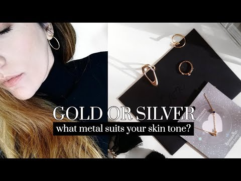 Gold Or Silver: What Metal Suits Your Skin Tone? TEST