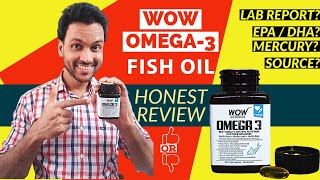 Best Fish Oil in India ? WOW Omega 3 फिश ऑयल Supplement / Capsules Deep Review [New 2020]