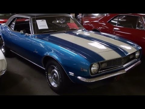 1968 Chevrolet Camaro Z28 302V8  Very Low Original Miles  Muscle