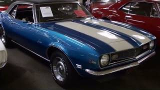 1968 Chevrolet Camaro Z28 302V8 - Very Low Original Miles - Muscle Car