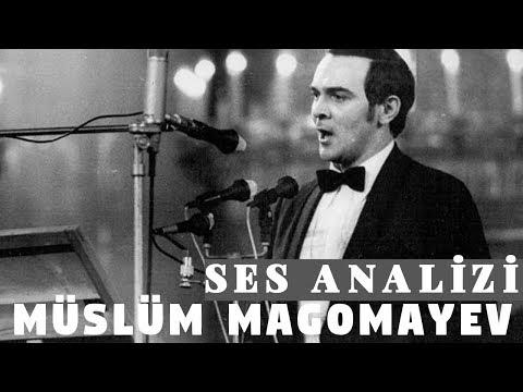 Müslüm Magomayev Ses Analizi (Azerbaycan'ın Dev Sesi)