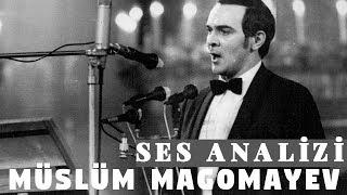 Müslüm Magomayev Ses Analizi (Azerbaycan
