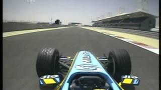 F1 Bahrain 2005 FP4 - Giancarlo Fisichella Onboard