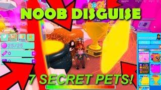 NOOB DISGUISE TROLL W/ SEA STARS, TROPHY, SOULHEART, POT O' GOLD ETC! | ROBLOX: BUBBLE GUM SIMULATOR