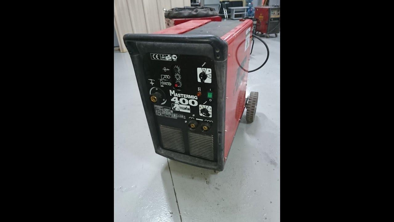 Полуавтомат Telwin Telmig 200 и его ремонт в сервисе | Зона-Сварки .