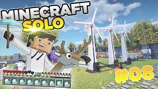 ⚡ ENERGETYCZNY ODCINEK | Minecraft SOLO #08 | HusBox 3.0  | Sezon 2019