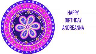 Andreanna   Indian Designs - Happy Birthday