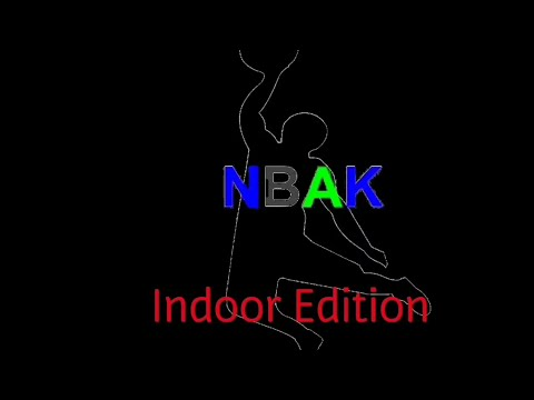NBA kidz indoor trick shot edition