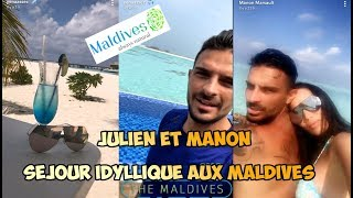 JULIEN ET MANON AUX MALDIVES