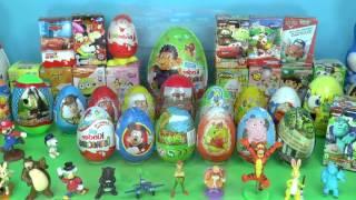 Яйца Киндер Сюрприз (Kinder Surprise Eggs), открываем киндеры