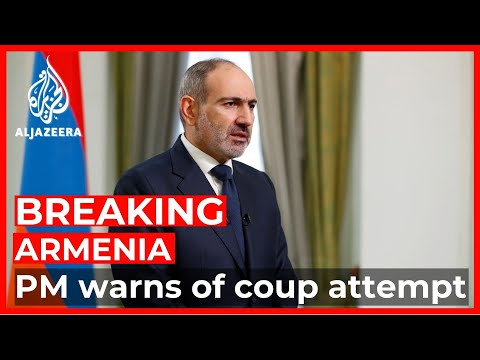 Armenia PM warns of coup attempt after army seeks his resignation