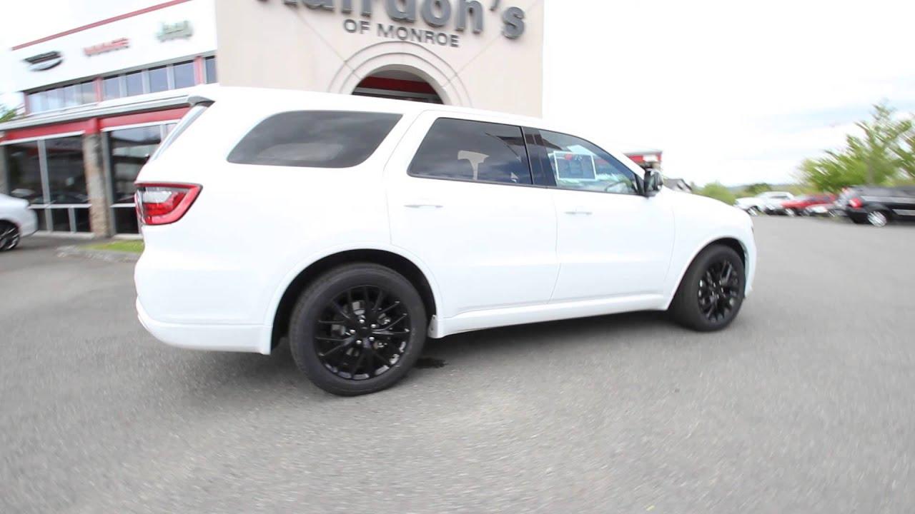 2015 Dodge Durango RT  Bright White Clearcoat  FC843825