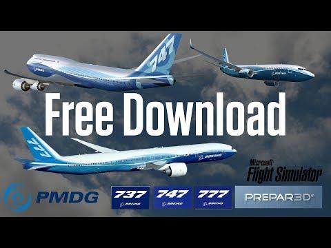 Download PMDG 737, 747, 777 for FSX / P3D v3 (Working Gauges)