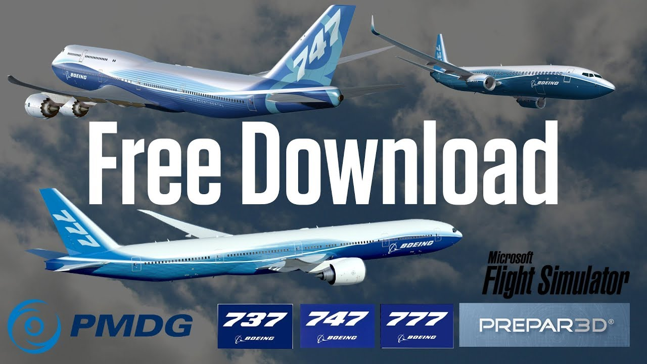 Download PMDG 737, 747, 777 for FSX / P3D v3 (Working Gauges)
